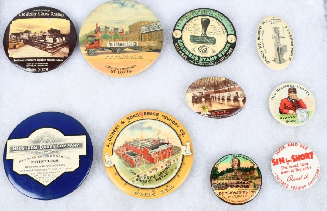 ADVERTISING POCKET MIRRORS