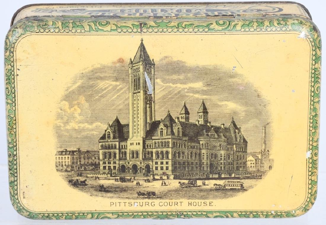 COURT HOUSE MICTURE TOBACCO TIN
