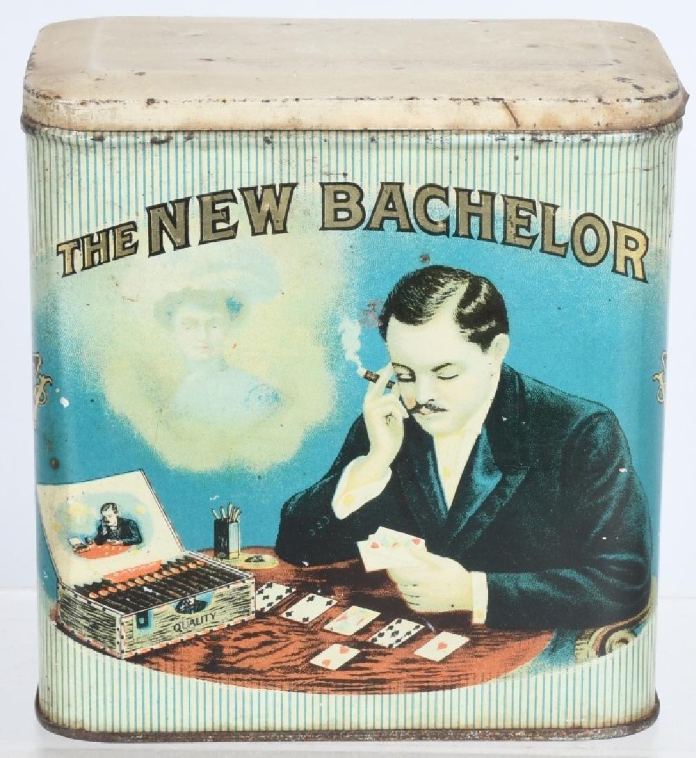 THE NEW BACHELOR TOBACCO TIN