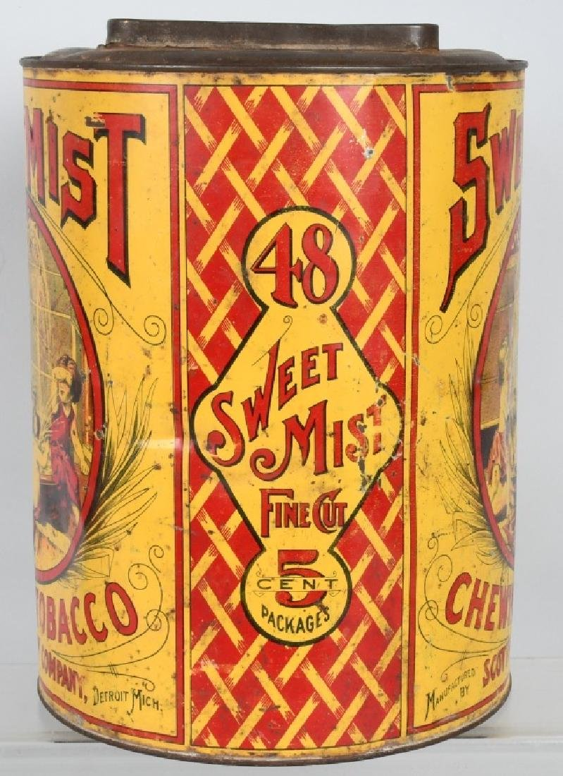 SWEET MIST CHEWING TOBACCO STORE TIN - 2
