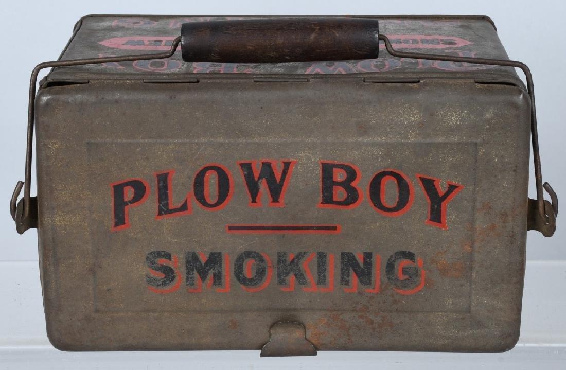 PLOW BOY & MAYO TOBACCO LUNCH BOX TINS - 8