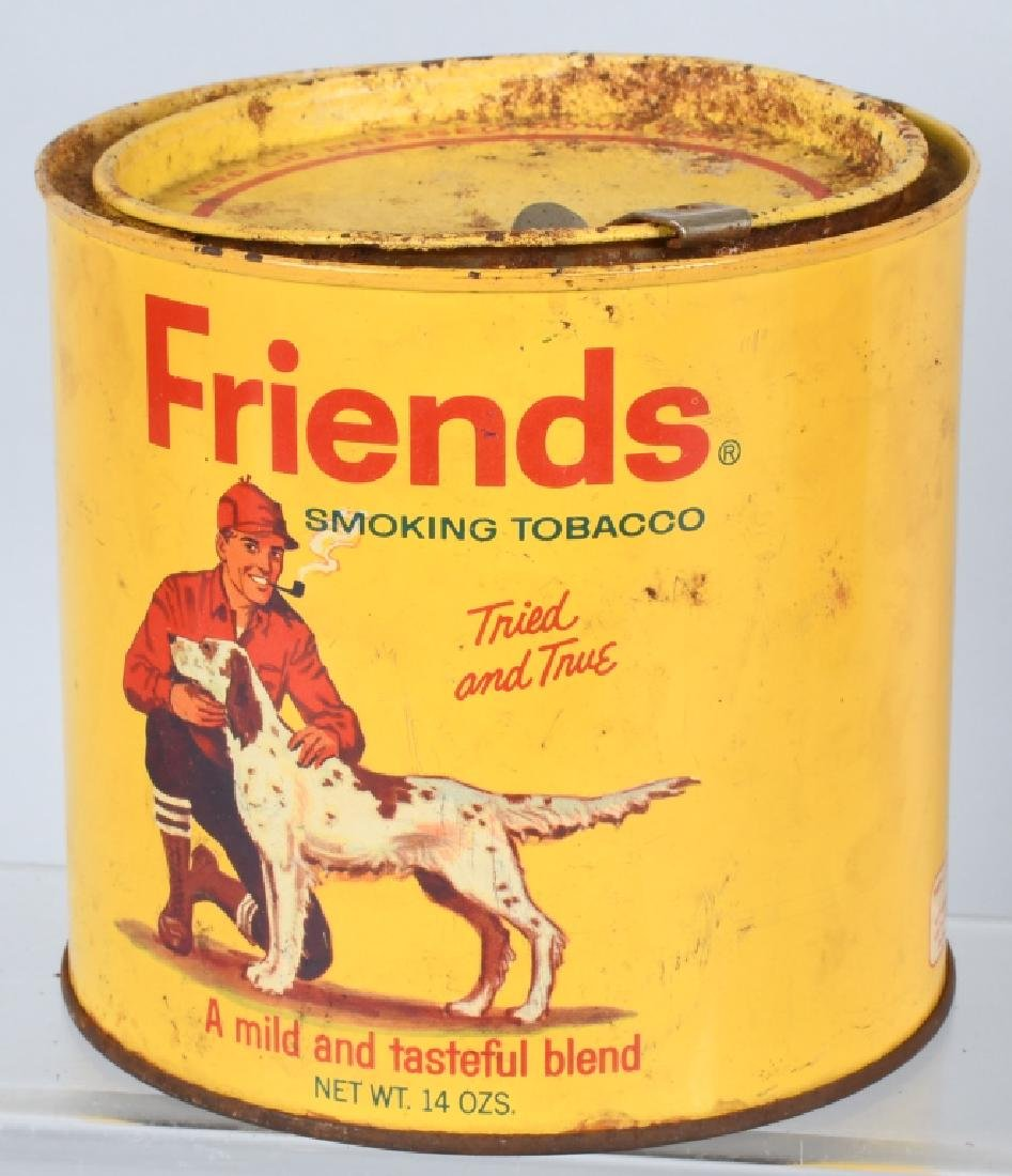 FRIENDS & UNION LEADER TOBACCO TINS - 3