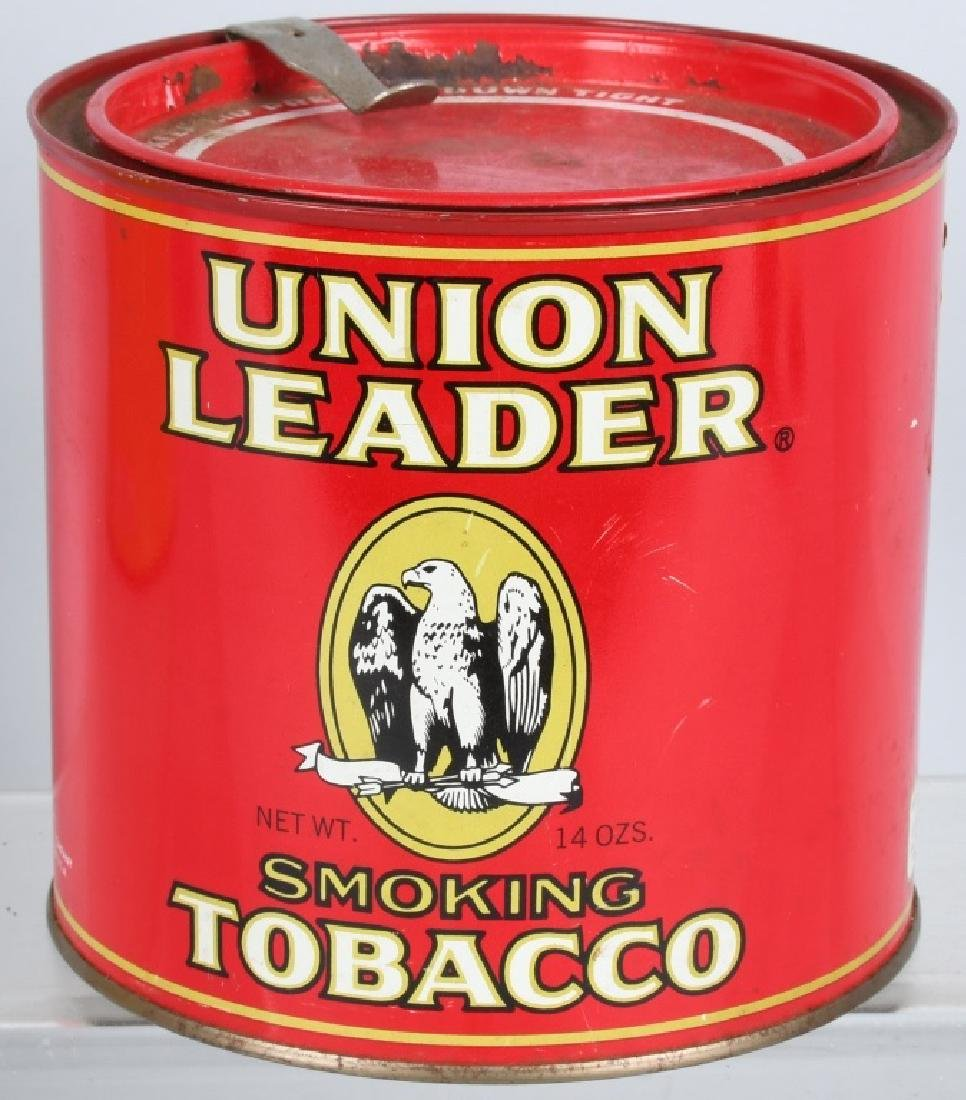 FRIENDS & UNION LEADER TOBACCO TINS - 4