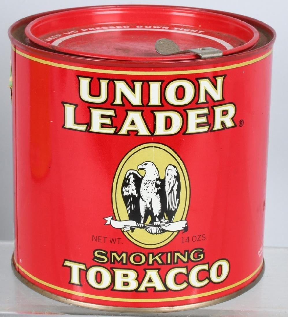 FRIENDS & UNION LEADER TOBACCO TINS - 5