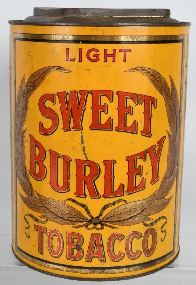 SWEET BURLEY LIGHT TOBACCO STORE BIN