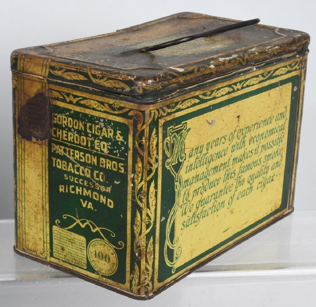 GREEN TIRTLE & MAYO TOBACCO LUNCH BOX TINS - 3