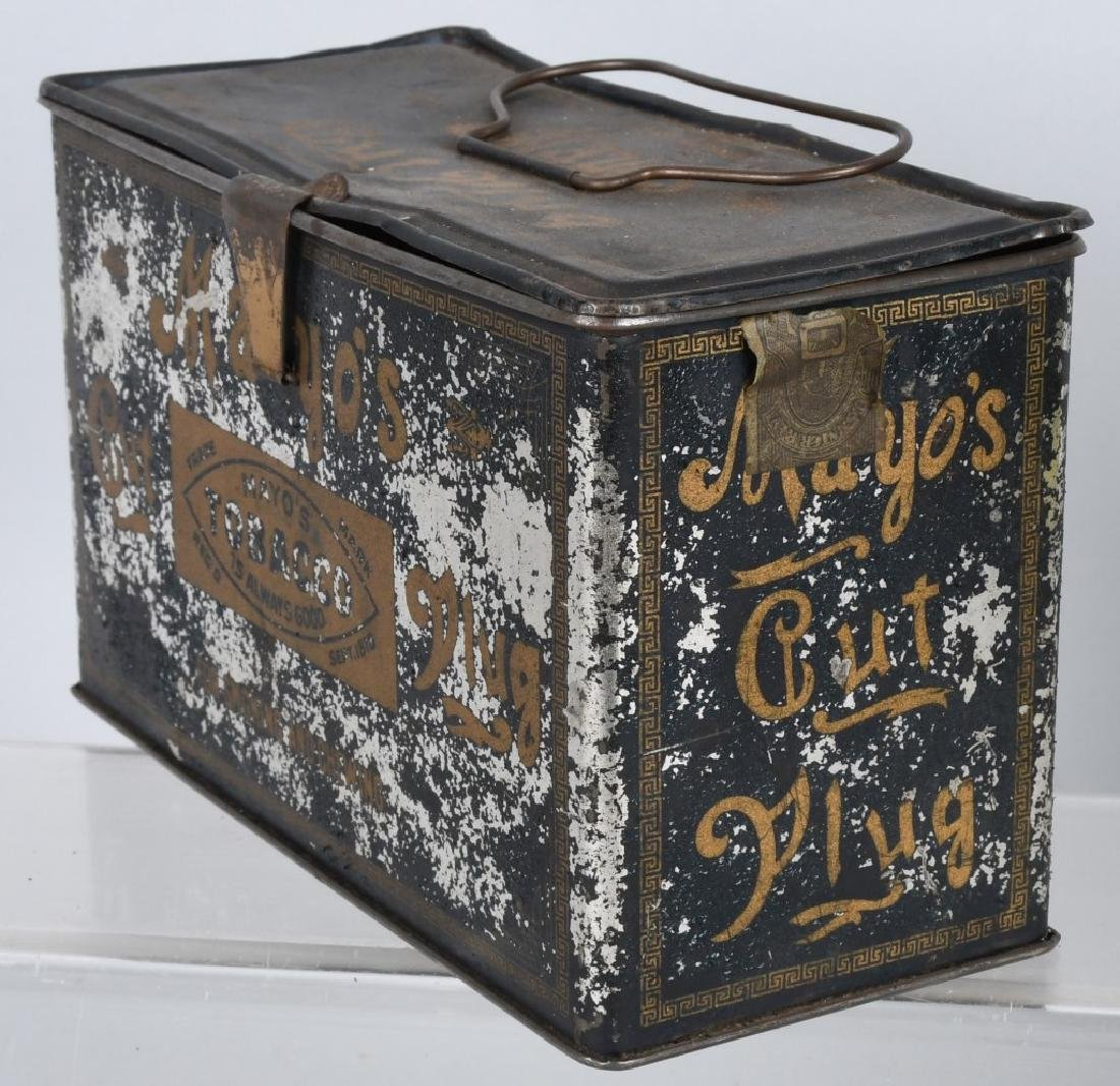 GREEN TIRTLE & MAYO TOBACCO LUNCH BOX TINS - 7