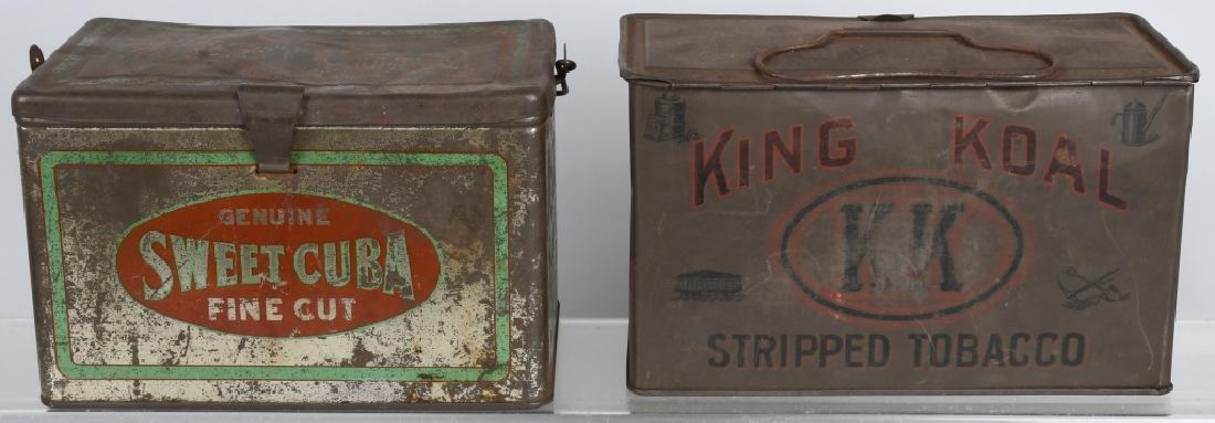 KING KOAL & SWEET CUBA TOBACCO TINS