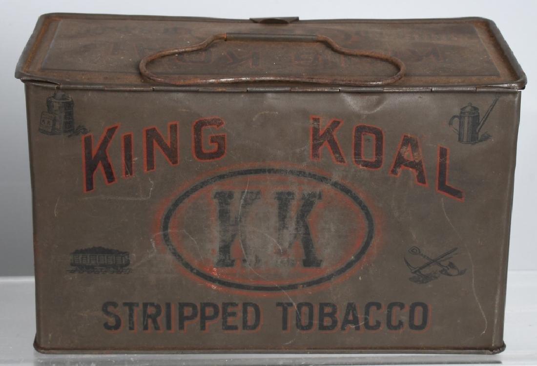 KING KOAL & SWEET CUBA TOBACCO TINS - 2