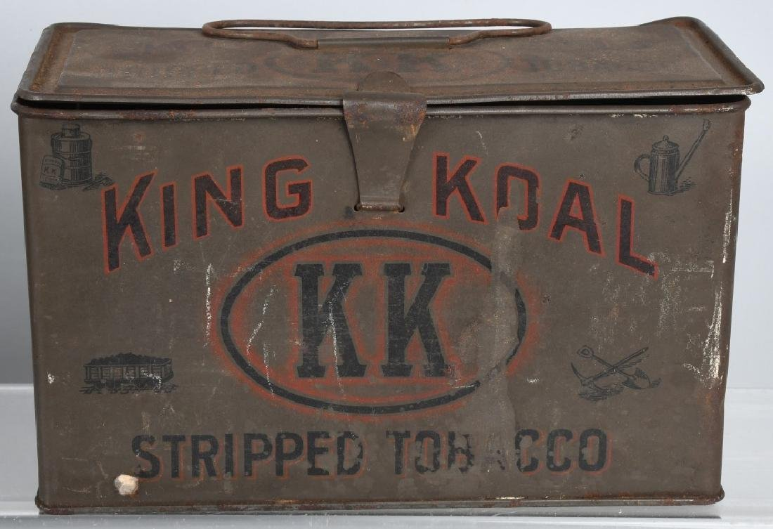 KING KOAL & SWEET CUBA TOBACCO TINS - 3