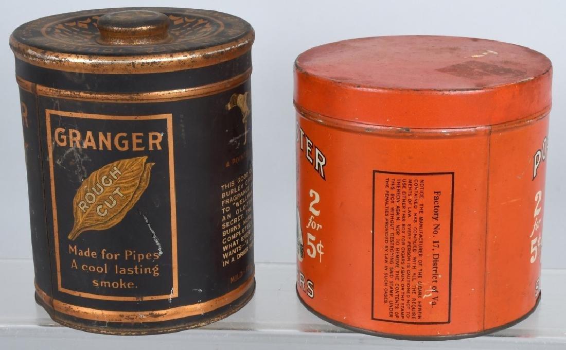 POSTMASTER & GRANGER TOBACCO TINS - 2