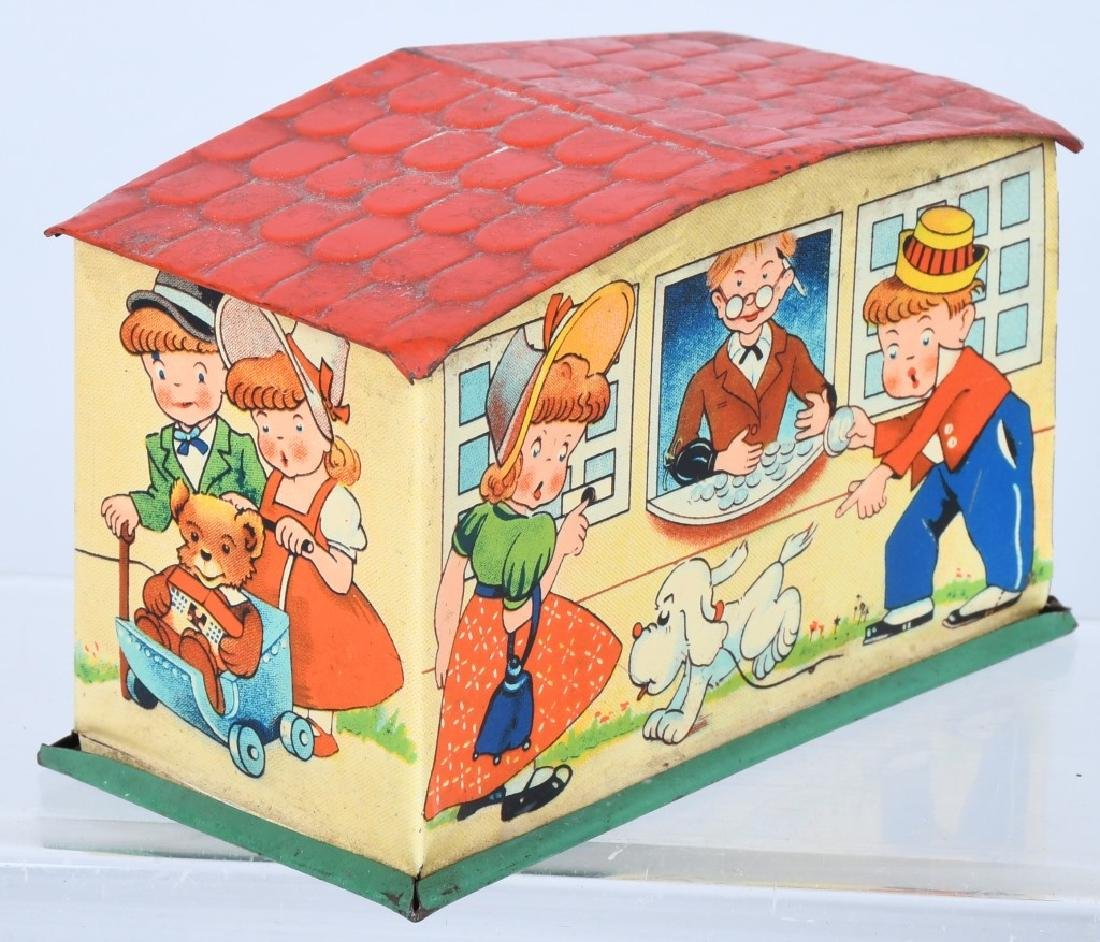 ADVERTISING TIN and TOY BANK LOT - 3