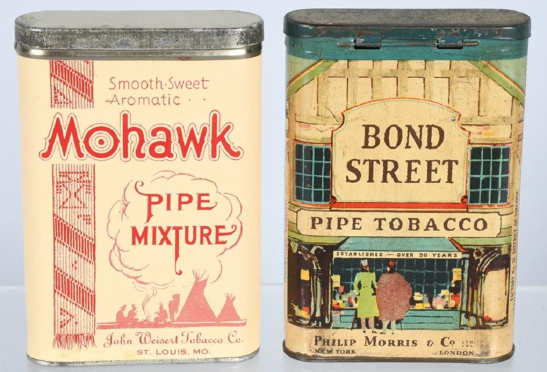 5- POCKET TOBACCO TINS - 2