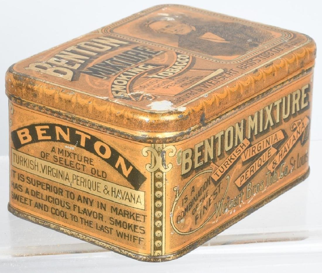 3- SMALL TOBACCO TINS - 2