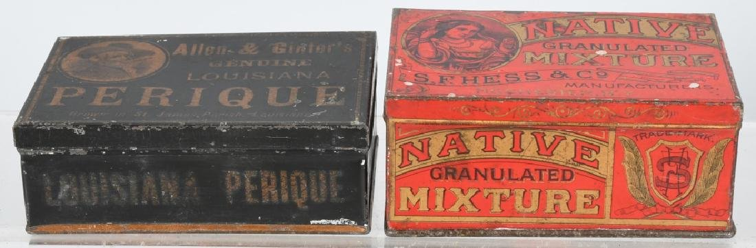 3- SMALL TOBACCO TINS - 4