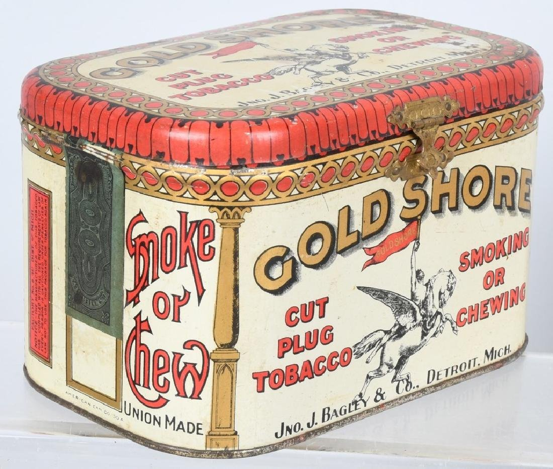 GOLD SHORE & PENNY POST TOBACCO TINS - 2