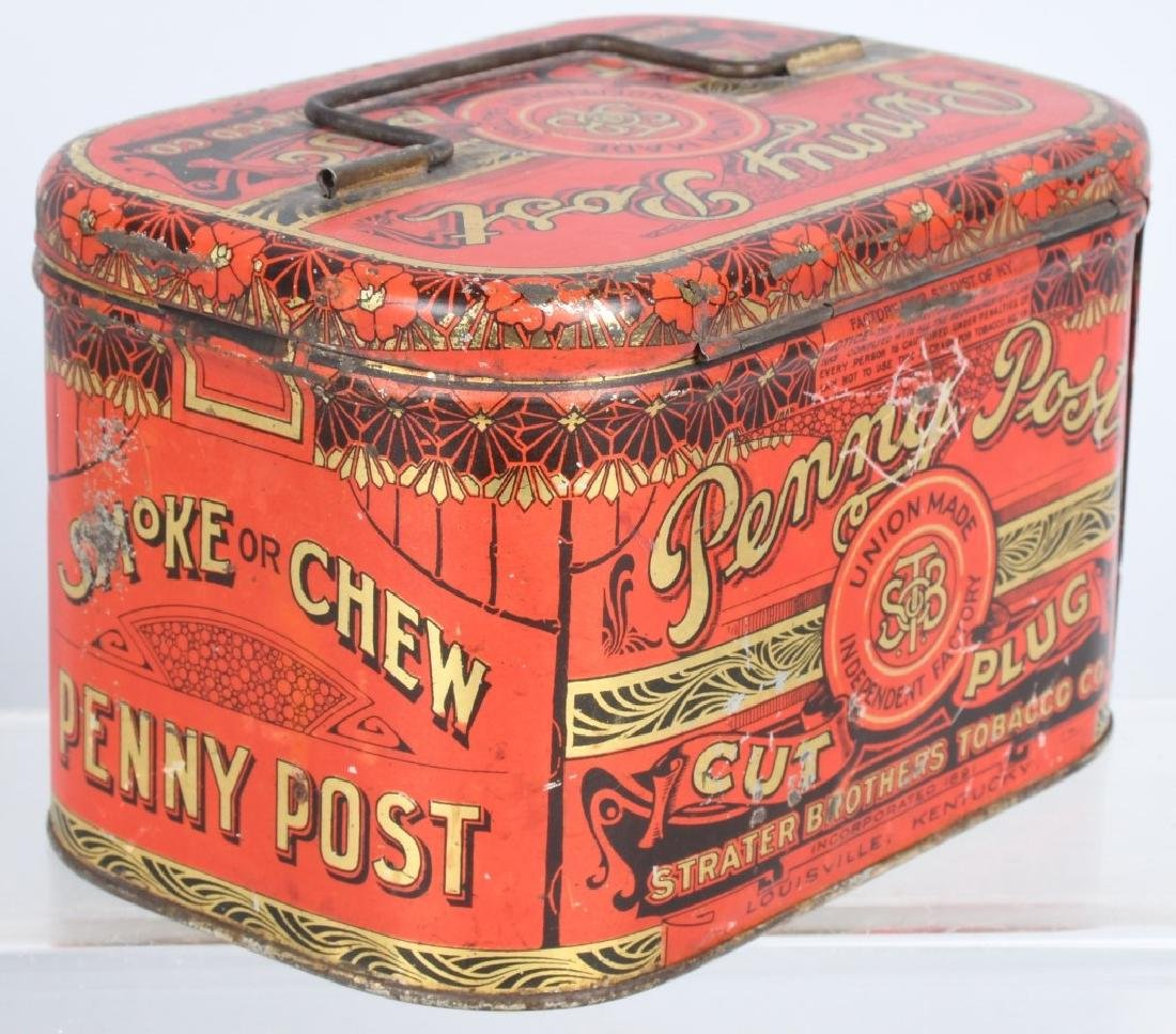 GOLD SHORE & PENNY POST TOBACCO TINS - 5