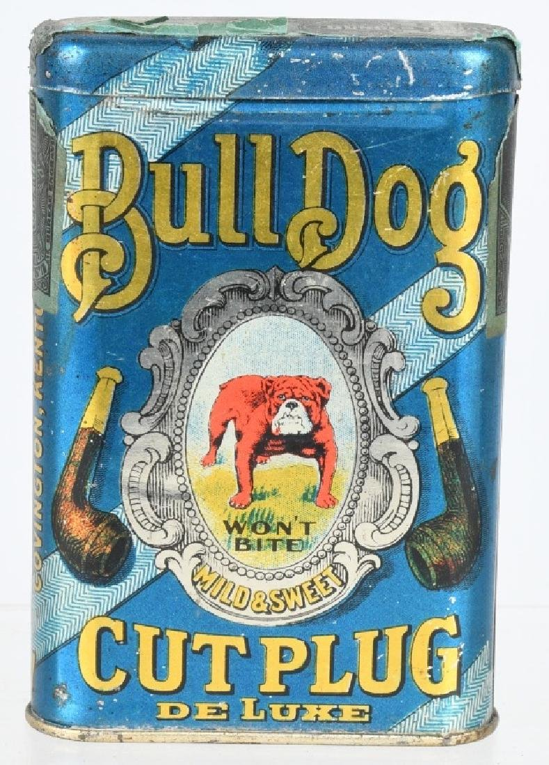 BULLDOG POCKET TOBACCO TIN