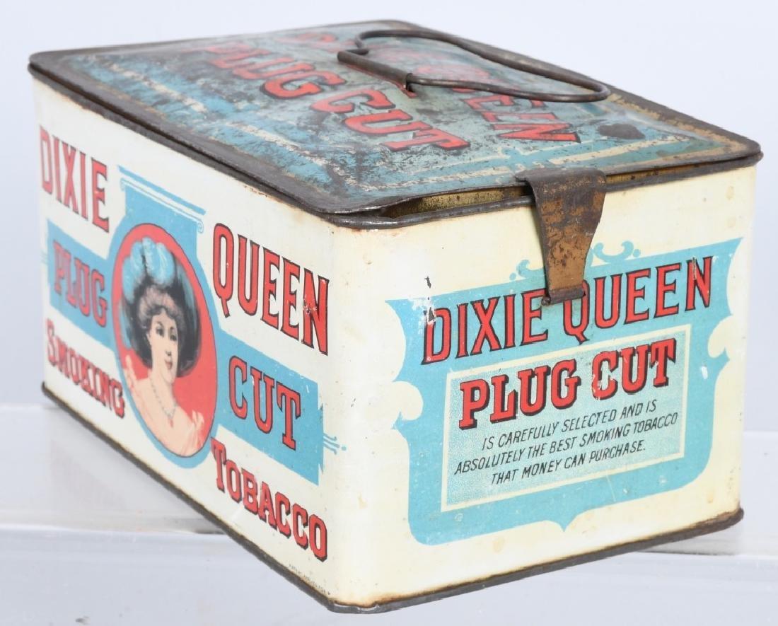 DIXIE QUEEN LUNCH BOX TOBACCO TIN - 2