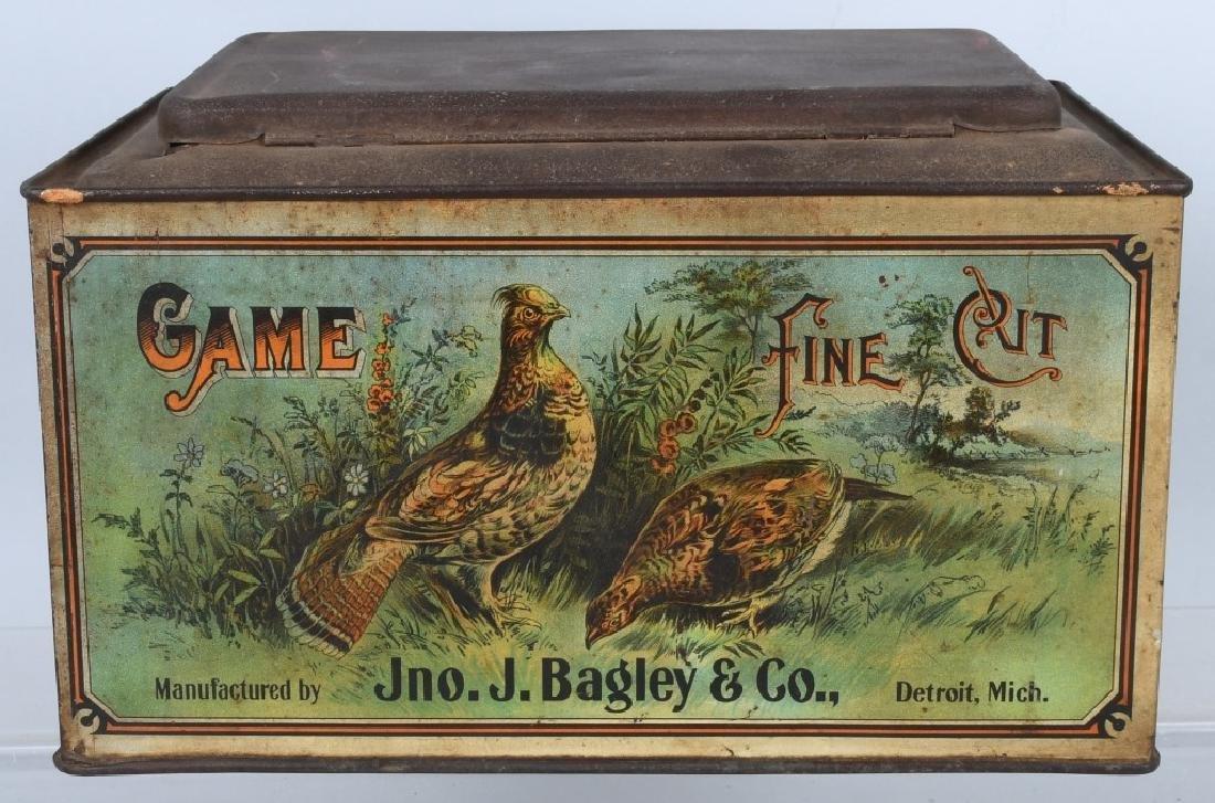 GAME FINE CUT TOBACCO STORE BIN - 4