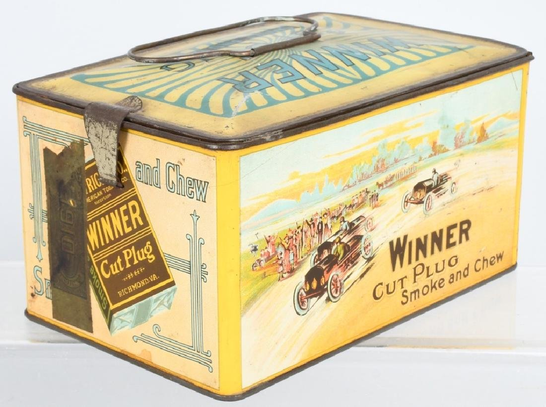 WINNER CUT PLUG TOBACCO TIN - 2
