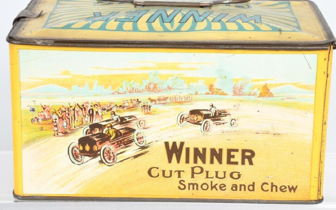 WINNER CUT PLUG TOBACCO TIN - 4