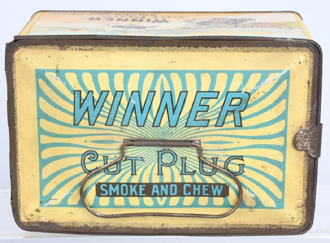 WINNER CUT PLUG TOBACCO TIN - 5