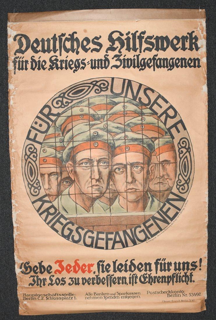WWI GERMAN POSTER