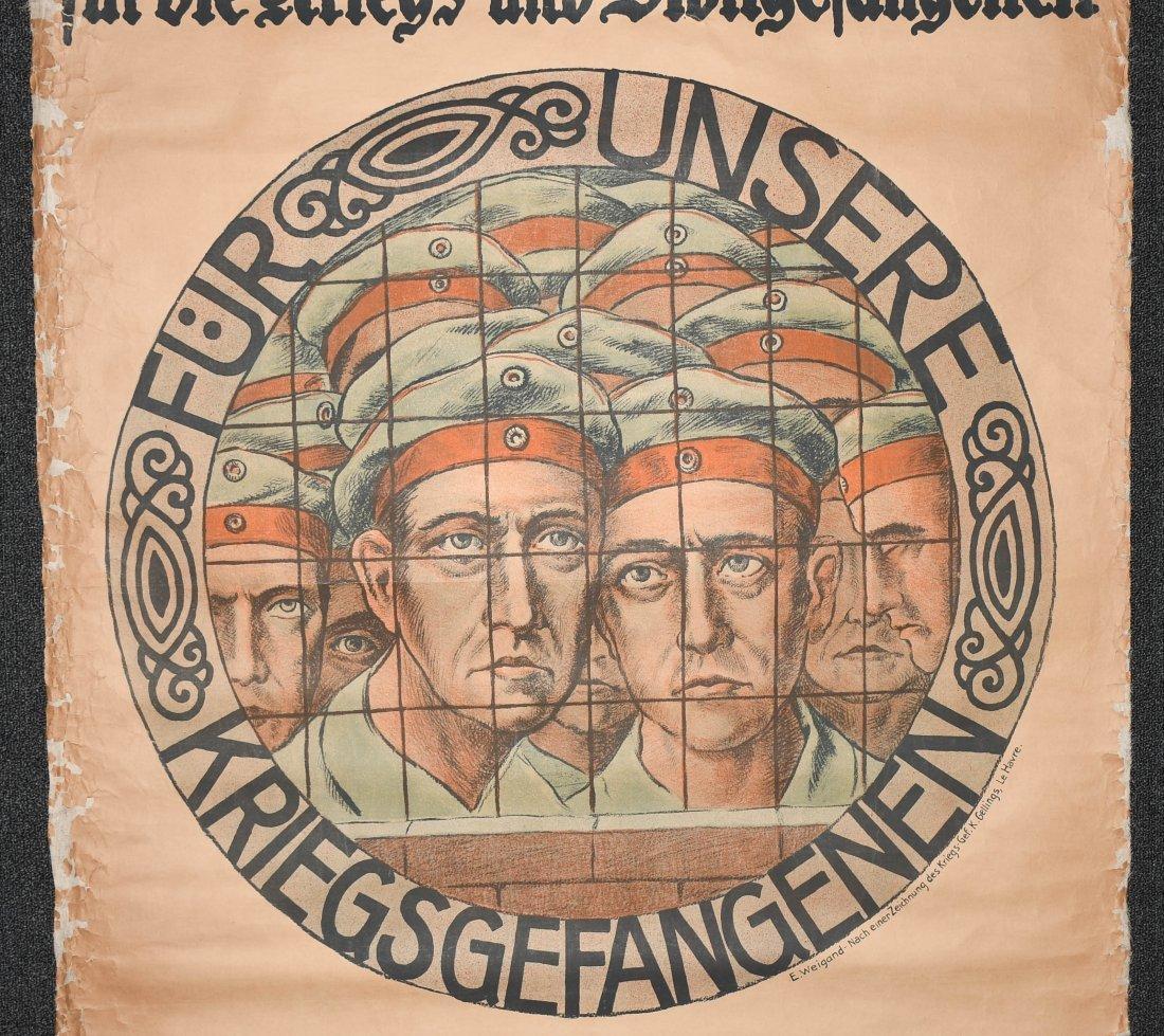 WWI GERMAN POSTER - 3