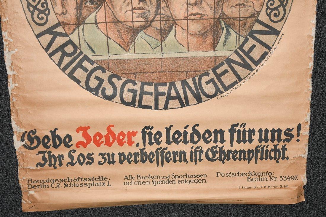 WWI GERMAN POSTER - 5