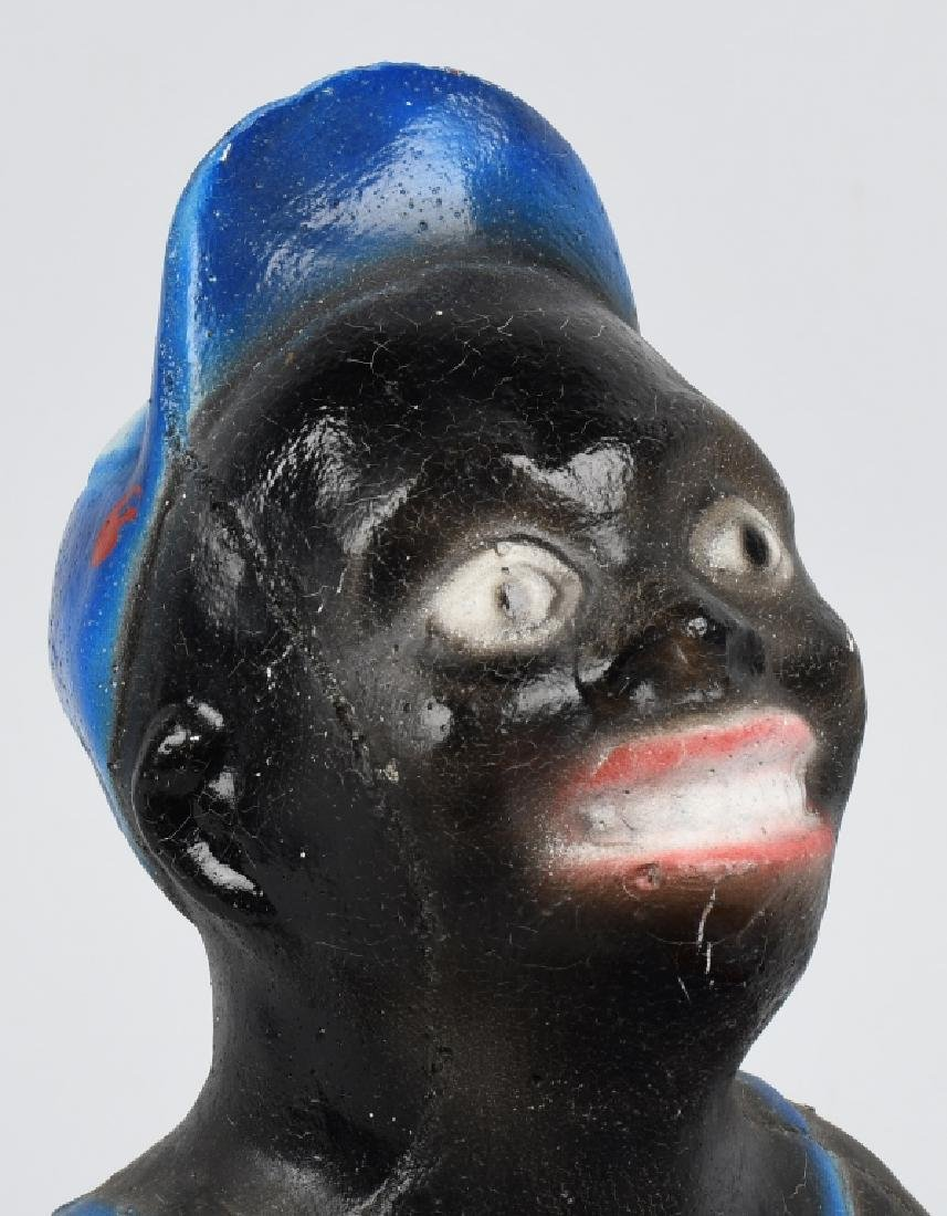 CHALKWARE BLACK BOY w/ WATERMELON - 5