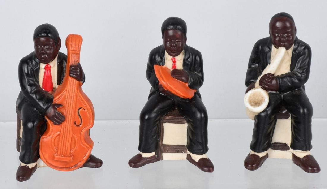 BLACK AMERICANA BISQUE FIGURES, GERMAN & JAPAN - 4