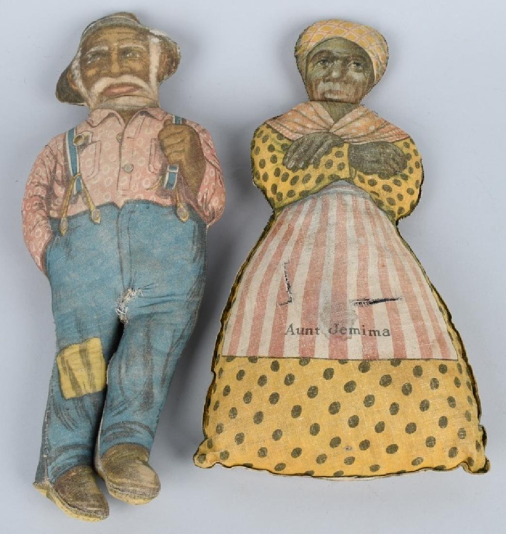 7-VINTAGE AUNT JEMIMA CLOTH DOLLS & MORE - 2