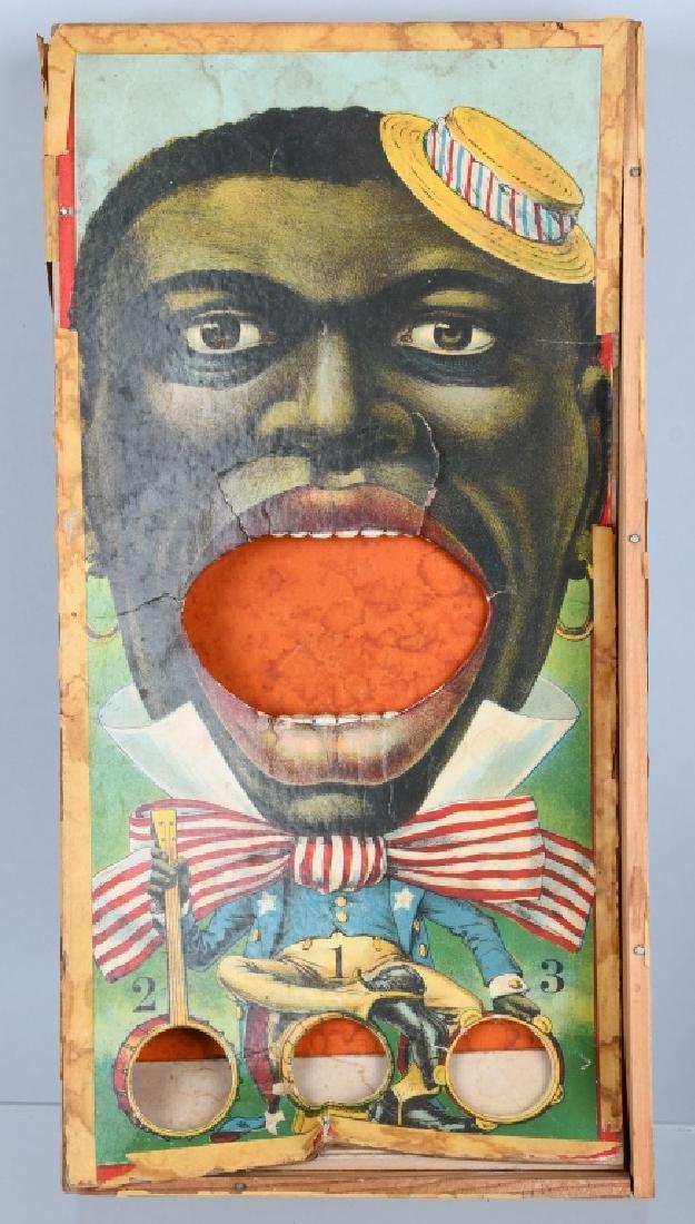 BLACK AMERICANA LOT, GAME, CLOCK & MORE - 3