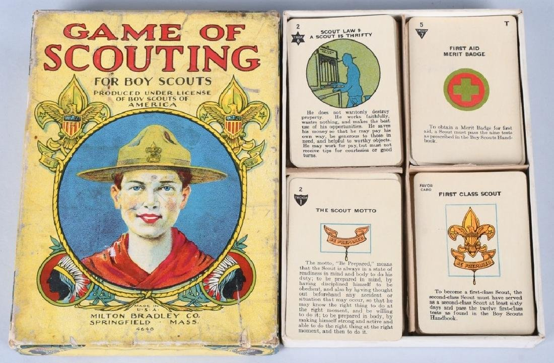 2-EARLY BOY SCOUT CARD GAMES, BOXED - 3