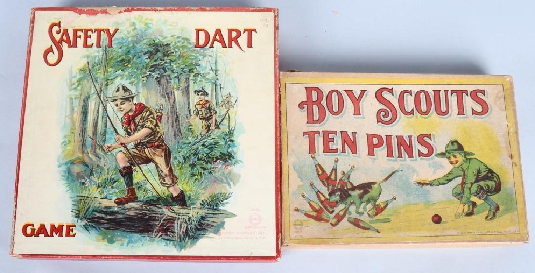 2-EARLY BOY SCOUT GAMES, BOXED