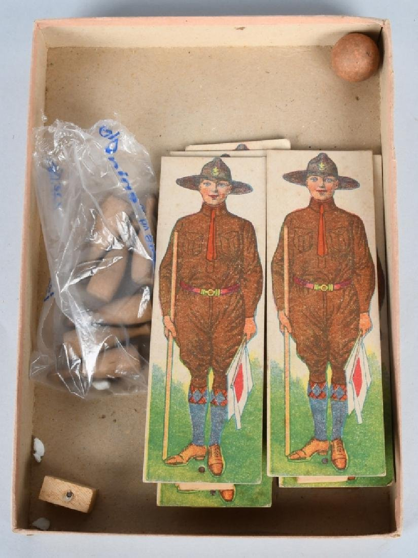 2-EARLY BOY SCOUT GAMES, BOXED - 3