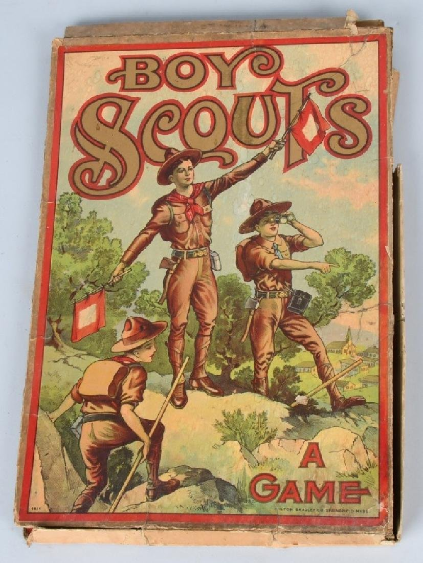 2-EARLY BOY SCOUT GAMES, BOXED - 2