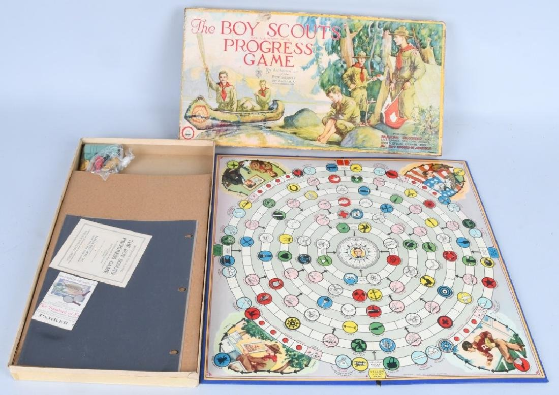2-EARLY BOY SCOUT GAMES, BOXED - 5