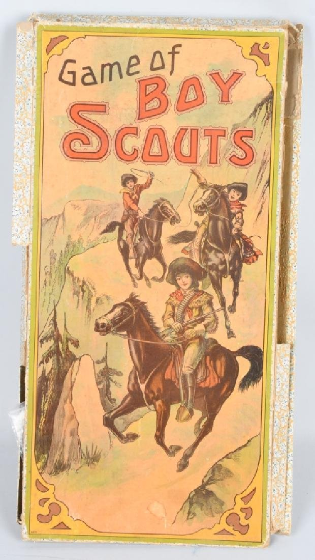 EARLY GAME of BOY SCOUTS , MILTON BRADLEY
