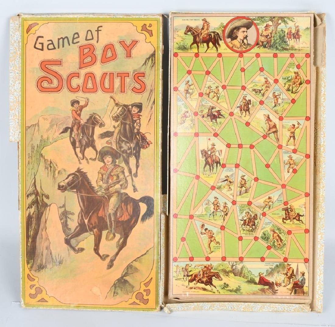 EARLY GAME of BOY SCOUTS , MILTON BRADLEY - 2
