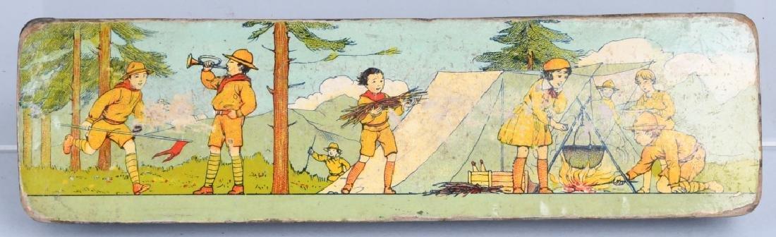 3-EARLY BOY SCOUT PENCIL BOXES - 5