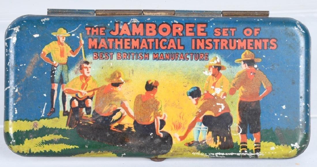 BOY SCOUT JAMBOREE MATHEMATICAL INSTRUMENT SET