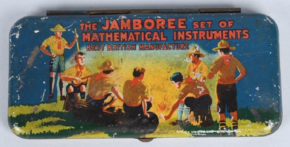 BOY SCOUT JAMBOREE MATHEMATICAL INSTRUMENT SET - 3
