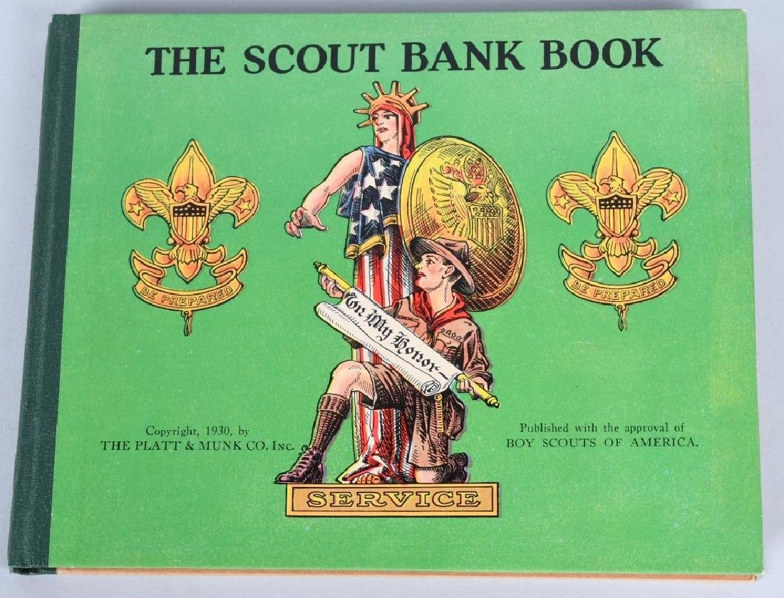 1930. THE SCOUT BANK BOOK, BOXED - 4