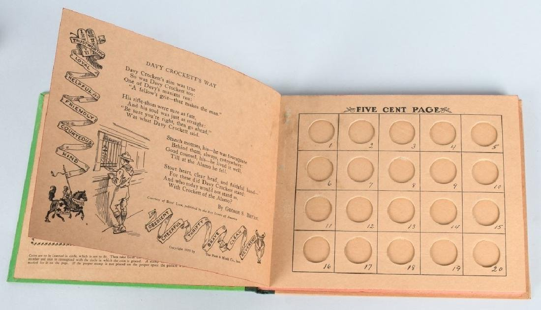 1930. THE SCOUT BANK BOOK, BOXED - 6