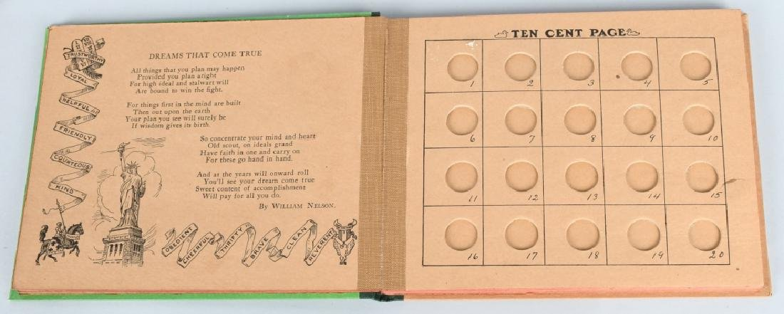 1930. THE SCOUT BANK BOOK, BOXED - 7