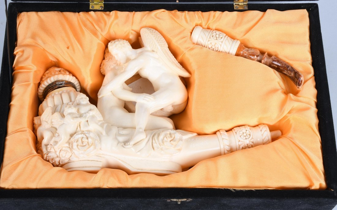 "14"" EROTIC ANGEL MEERSCHAUM PIPE By ISMAIL - 2"