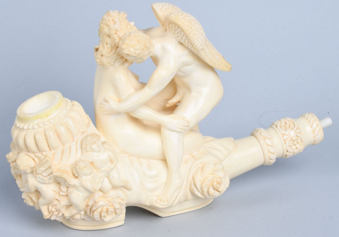 "14"" EROTIC ANGEL MEERSCHAUM PIPE By ISMAIL - 4"