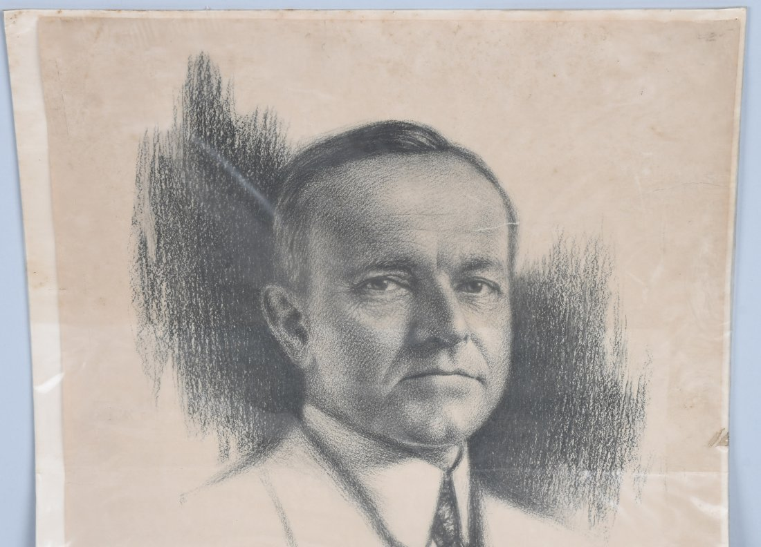 CALVIN COLLIDGE 1924 PRESIDENTIAL POSTER - 2
